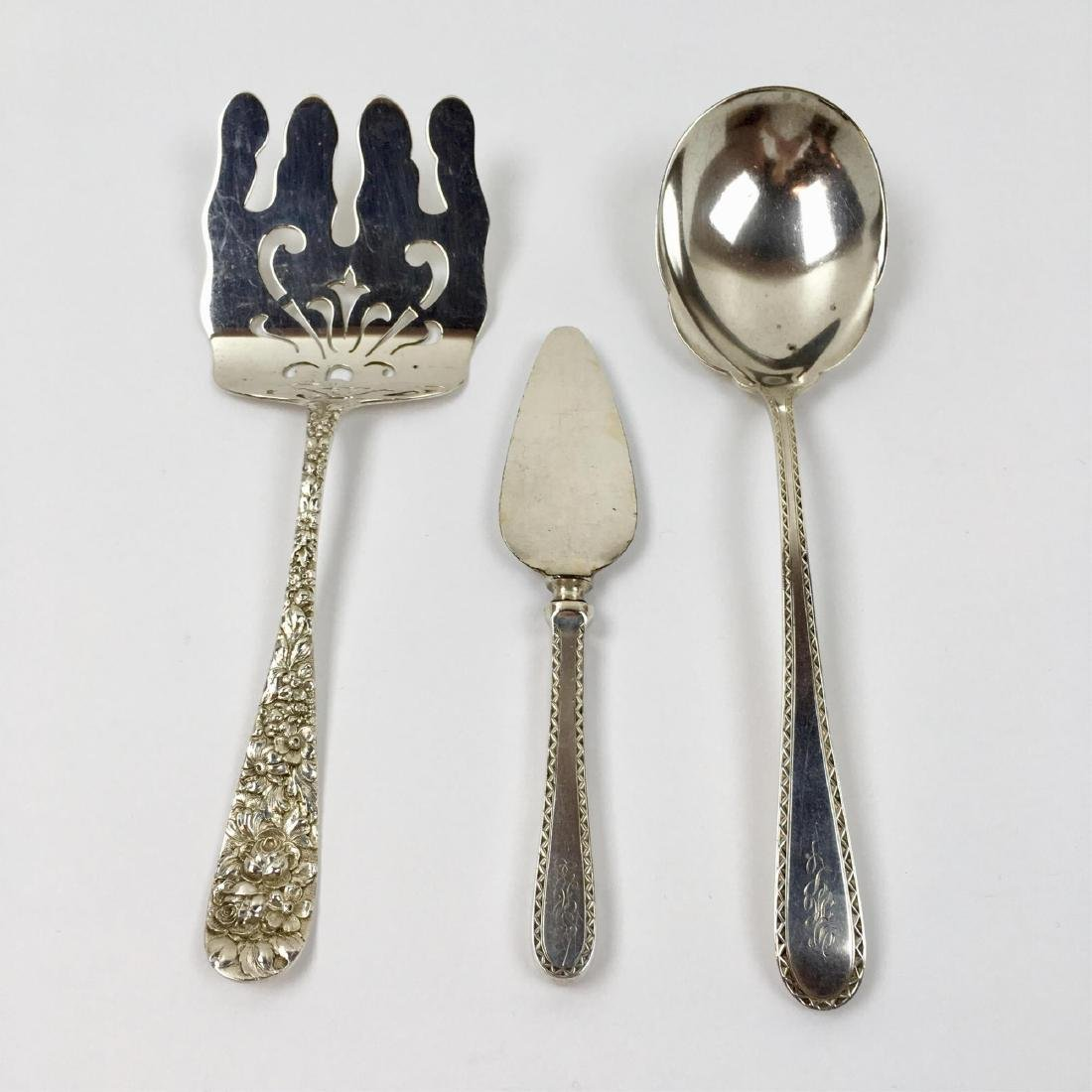 3 PCS OF STERLING SILVER FLATWARE