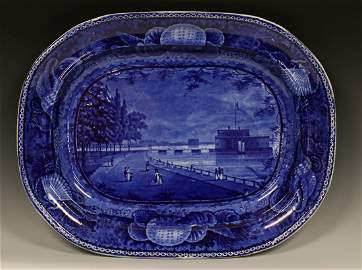 Historical Blue Staffordshire