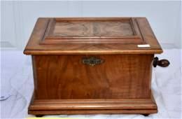 Symphonion Disc Music Box