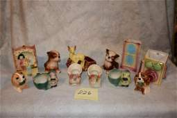 12 Pieces of Shawnee Pottery