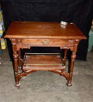 A nice Victorian Eastlake Parlor or Library table