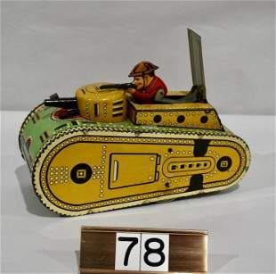 Marx Tin Toy Tank