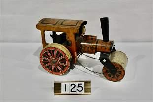 Tin Toy Steam Roller Toy