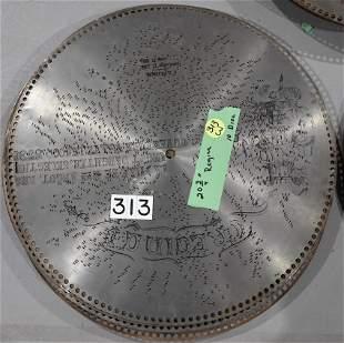 Regina Music Box Discs