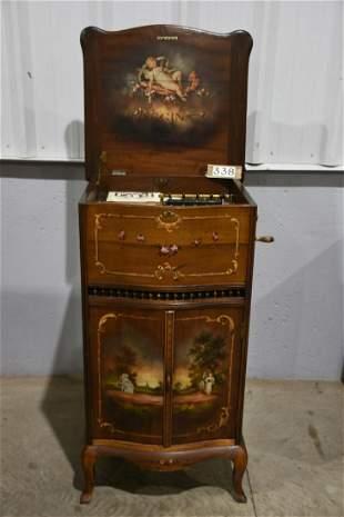 Regina Rookwood Decorated Music Box