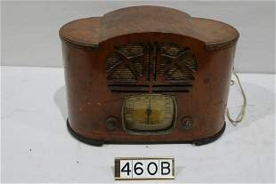 Emerson Wooden Case Table Radio
