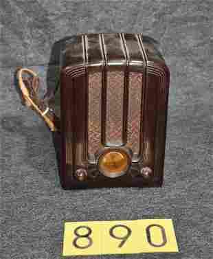 Emerson Unmarked Bakelite Radio