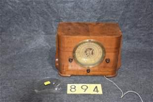 Detrola Wooden Case Radio
