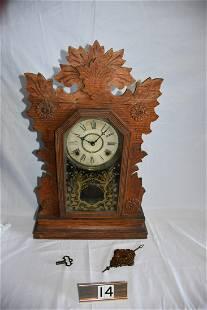 William Gilbert Shelf or Gingerbread Clock