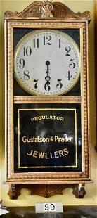 Wall Advertising Regulator Clock