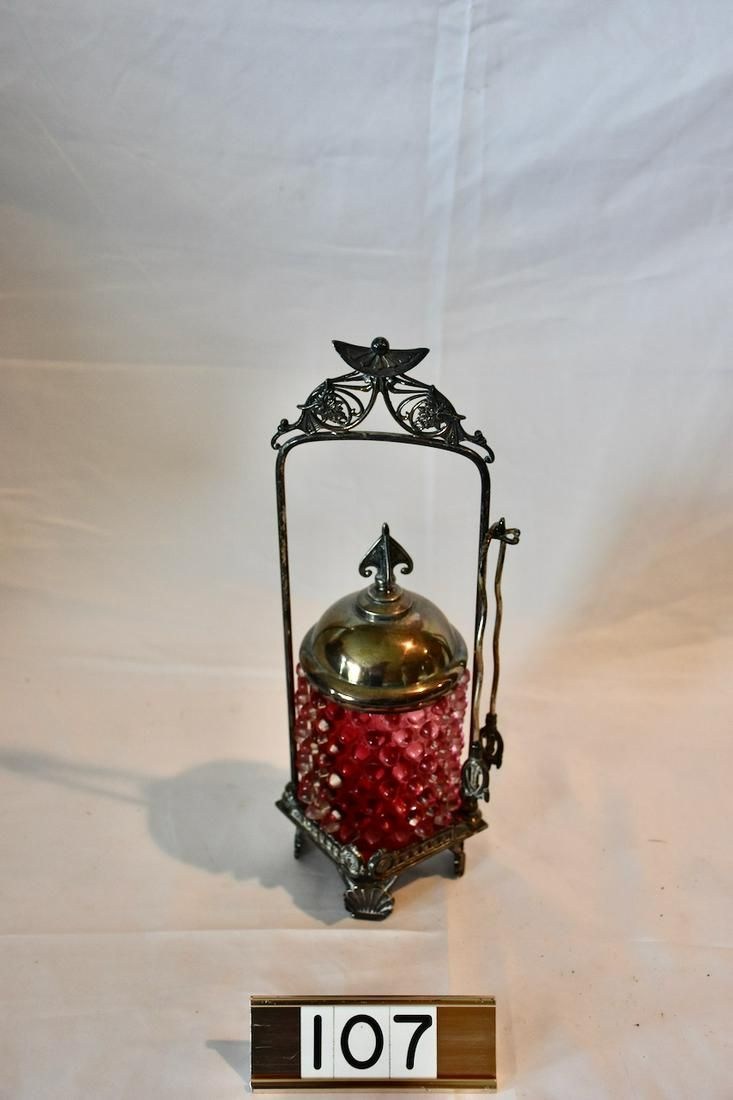 Antique Victorian Pickle Castor