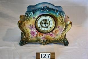 Ansonia China cased clock