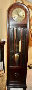 English Dome Top Grandfathers Clock