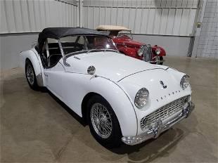 1961 Triumph TR3, Type 20 Roadster