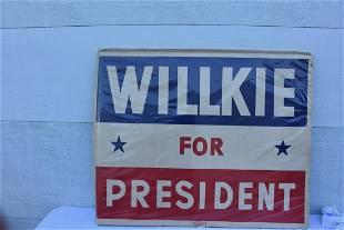 Wilkie For President Advertising Power