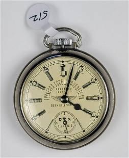 Ingersoll Open Face Pocket Watch