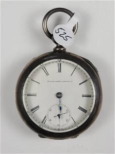 Elgin National Key Wind Open Face Pocket Watch