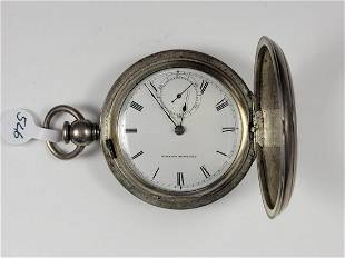 American Watch Co., Key Wind Open Face Pocket Watch
