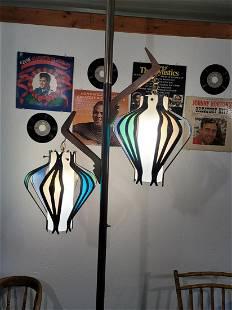 Mid Century Modern Pole Lamp