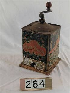 None-Such Coffee Grinder with Drawer