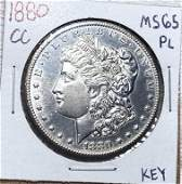 1880CC Morgan Silver Dollar MS65 PL