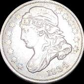 1834 Capped Bust Dime LIGHTLY CIRCULATED