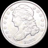 1833 Capped Bust Dime LIGHTLY CIRCULATED