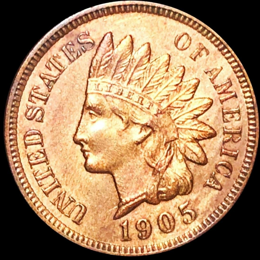 1905 Indian Head Penny UNCIRCULATED
