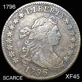 1796 Draped Bust Dime LIGHTLY CIRCULATED
