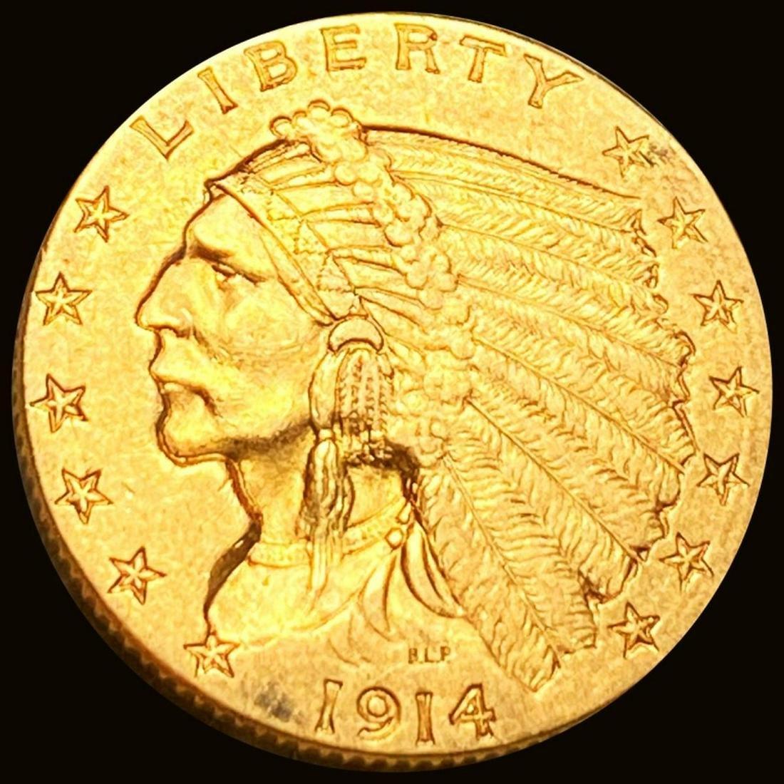 1914-D $2.50 Gold Quarter Eagle UNCIRCULATED