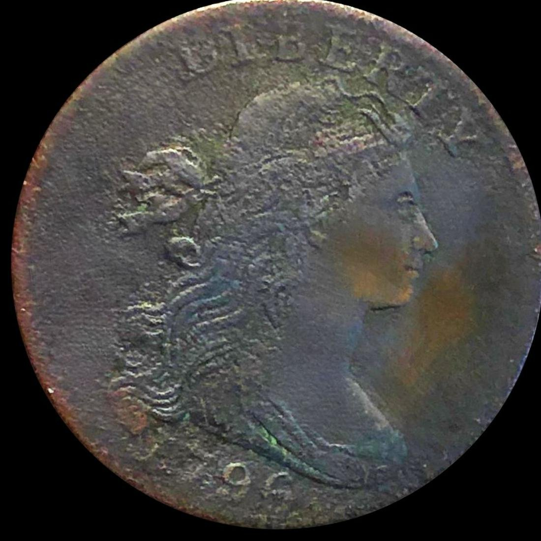 1796 Draped Bust Large Cent LIGHTLY CIRC