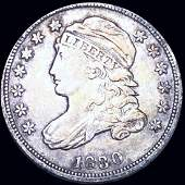 1830 Capped Bust Dime LIGHTLY CIRCULATED