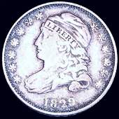 1829 Capped Bust Dime LIGHTLY CIRCULATED