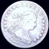 1797 Draped Bust Dime LIGHTLY CIRC 16 STARS