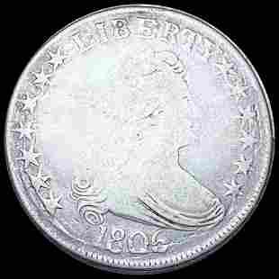 1806 Draped Bust Half Dollar NICELY CIRCULATED