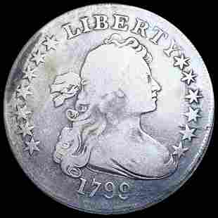 1799 Draped Bust Dollar NICELY CIRCULATED