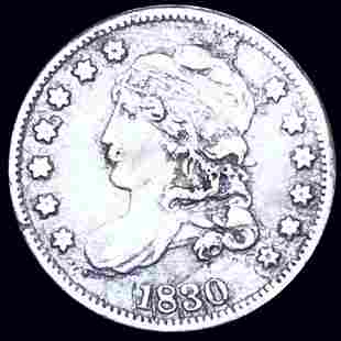 1830 Capped Bust Half Dime NICELY CIRCULATED