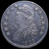 1823 Capped Bust Half Dollar XF O-103