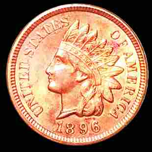 1896 Indian Head Penny UNCIRCULATED