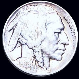 1924-S Buffalo Head Nickel LIGHTLY CIRCULATED