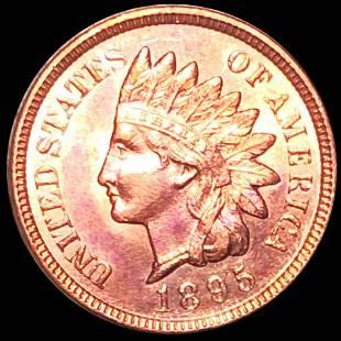 1895 Indian Head Penny UNCIRCULATED
