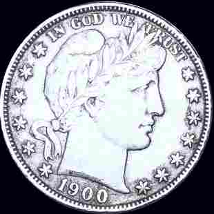 1900-S Barber Half Dollar XF