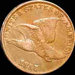 1857 Flying Eagle Cent NICELY CIRCULATED