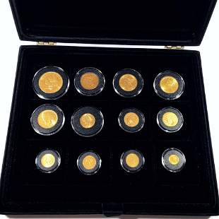 US Gold Type Coin Club Set UNCIRCULATED