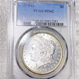 1879-O Morgan Silver Dollar PCGS - MS62