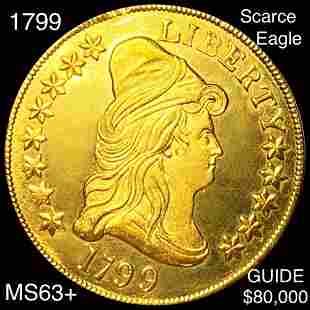 1799 $10 Gold Eagle CHOICE BU