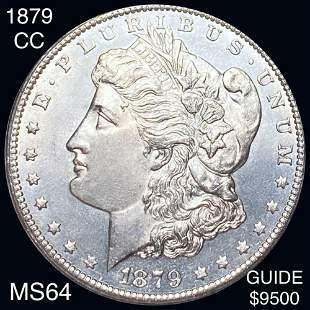 1879-CC Morgan Silver Dollar CHOICE BU