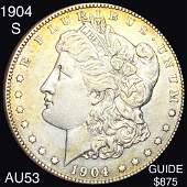 1904-S Morgan Silver Dollar CHOICE AU