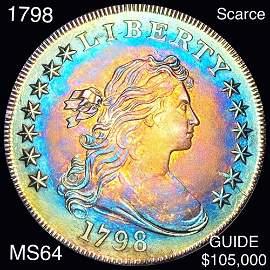 1798 Draped Bust Dollar CHOICE BU
