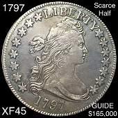 1797 Draped Bust Half Dollar LIGHT CIRC
